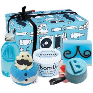 Coffret cadeau Hipster bien-être, messieurs, savonnerie, vendu par bubulle et savon.