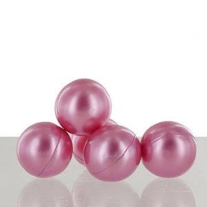 Perle de bain parfumée à la rose, vendu par bubulle et savon.
