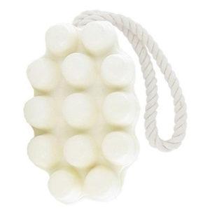 Savon massage lait de chèvre bio vendu par bubulle et savon